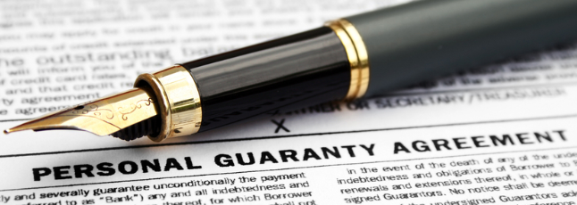 Merchant Account Personal Guarantee